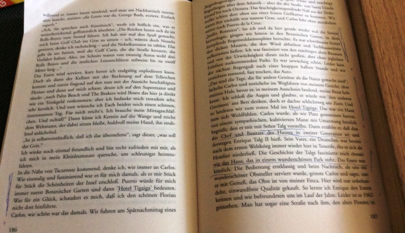 Ein Stück Geschichte im Buch: Der Inseltraum Teneriffa, Story einer Aussteigerin, Autorin: Marga Lemmer