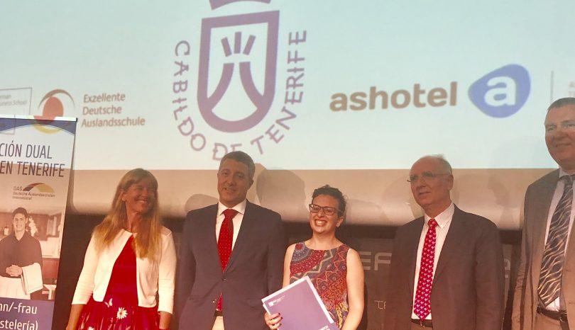 Erstmals spanische Hotelfachleute die einen dualen Ausbildungsabschluss nach deutschem System erhalten