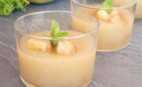 Das Tigaiga-Rezept für die Birnen Gazpacho
