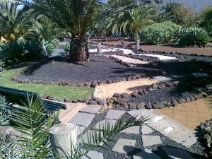 Hotelgarten für Freunde der Botanik
