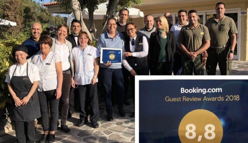 Tigaiga Suites receives GUEST REVIEW AWARD 2018