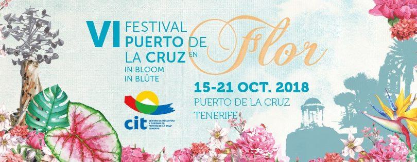 6 Edición del Festival de Puerto de la Cruz en Flor