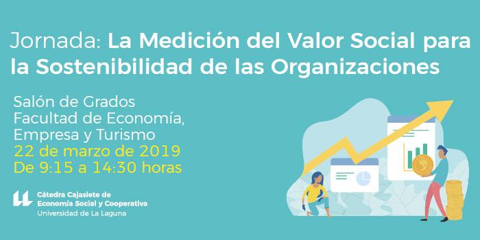 22 marzo Jornada: La Medición del Valor Social para la Sostenibilidad de las Organizaciones