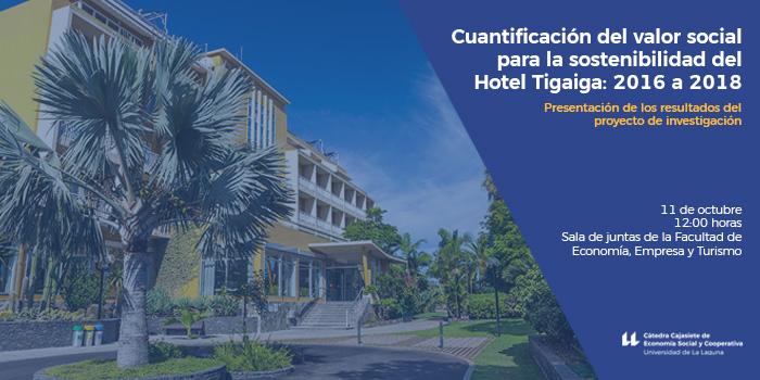 Cuantificación del valor social para la sostenibilidad del Hotel Tigaiga