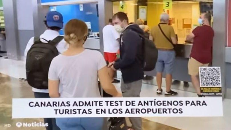 Se aprueban los test antigénos para los turistas