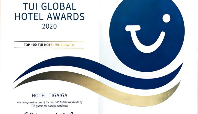 TUI Global Hotel Award 2020